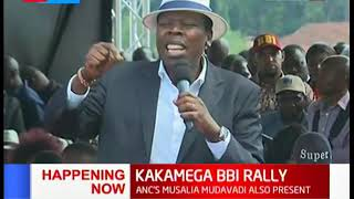 Eugene Wamalwa full speech during #KAKAMEGA BBI RALLY