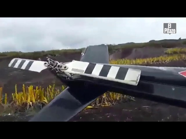 Helicóptero YV2411 en ruta Canaima-Uruyen cayó en el sector el Dragón del Auyantepuy