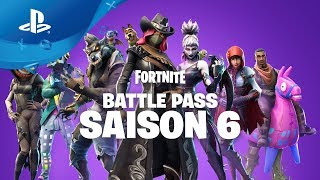 Fortnite: Season 6 - Battle Pass Trailer [PS4, English]