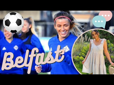 Trip To Belfast  And A Chat With The LADIES Football Team!