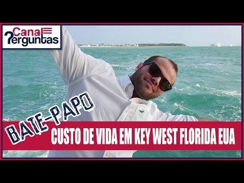 🔴[AO VIVO] Custo de vida em Key West Florida EUA ✔