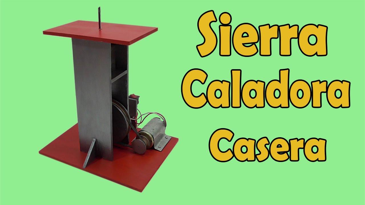 Cómo Hacer Sierra Caladora Casera (muy fácil de hacer) - YouTube