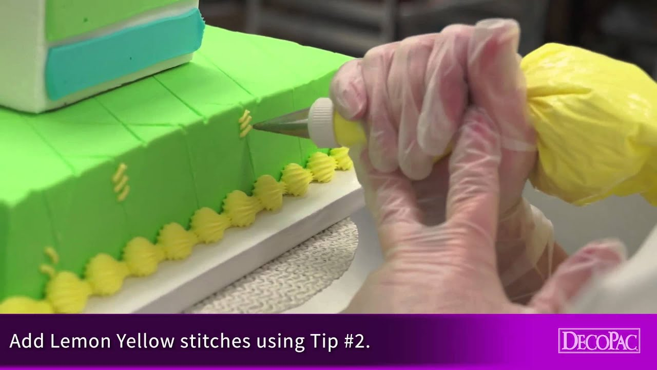 How To Decorate ABC Baby Blocks Signature Cake DecoSet