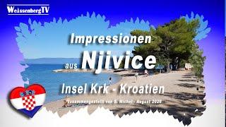 Urlaub Kroatien   Insel Krk   Njivice  August 2020