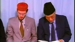 Rencontre Avec Les Francophones - 4 mai 1998 (Amérique,femme,Messie promis (as), Souleymane )