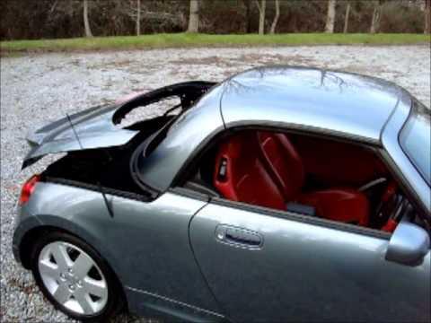 2007 Daihatsu Copen 1 3 Coupe Cabriolet BIG SPEC LEATHER JUST 38000 MILES