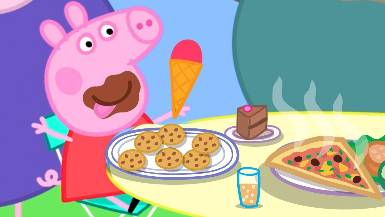 Peppa Pig Official Channel ???? Peppa Pig's Best Salad Ever ????