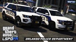 GTA 5 LSPDFR LIVE - Day 163 | Orlando Police Department (OPD) #2 | Night City Patrol in Orlando, FL