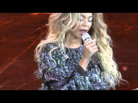 Beyonce 4th March 2014 London O2 Why Don't You Love Me