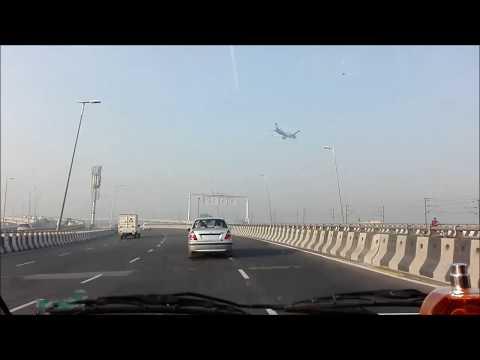 DELHI TO INDIRA GANDHI AIRPORT ROAD