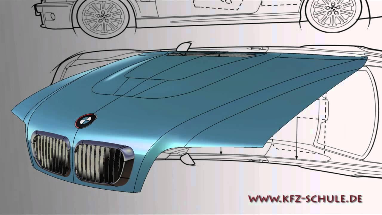 catia v5 gsd bmw e46 motorhaube youtube. Black Bedroom Furniture Sets. Home Design Ideas