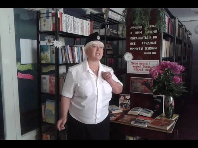 Изображение предпросмотра прочтения – ЛюбовьЕрошева читает произведение «Ты помнишь, Алёша, дороги Смоленщины» К.М.Симонова