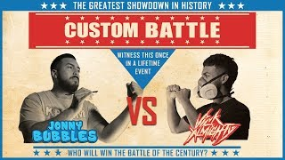 The Long Awaited Custom Battle : Jonny Bubbles Vs Vick Almighty