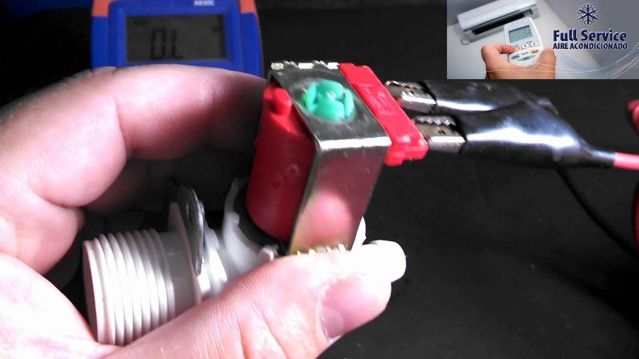 Reparacion solenoide electrovalvula carga de agua for Lavarropas en la cocina