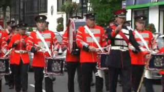 Ulster Loyalist Parade - Sir George White Flute Band