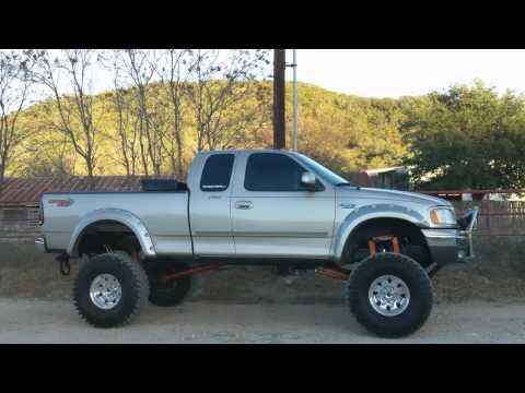 Lifted Ford F250 >> FORD F-250 LIGHT DUTY CUSTOM IFS AIR BAG SUSPENSION SET UP ...