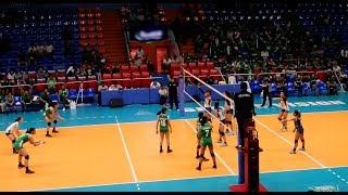 DLSZ vs NU   SET 1   Finals - GAME 2   UAAP 81 Girls Volleyball