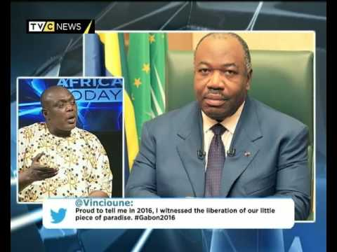 AFRICA TODAY ON GABON POLITICS WITH NELSON EKUJUMI AND FRANC