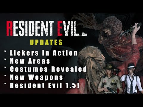 Resident Evil 2 Remake Update   NEW Claire Gameplay Footage Reveals New Stuff!