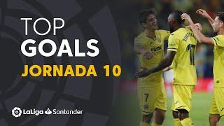Todos los goles de la Jornada 10 de LaLiga Santander 2019/2020