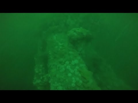 WW1 German Submarine Found off Belgium Coast