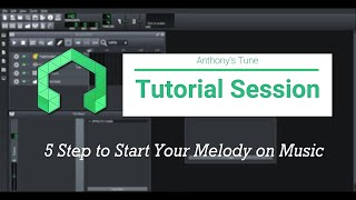 5 Steps to Start Your Melody on Music (LMMS Tutorial)