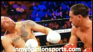 Danny Garcia vs Brandon Rios Highlights 9th Round TKO (Repost)