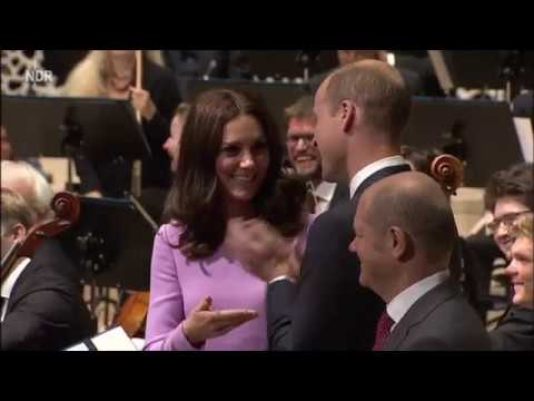 Prince William and Kate visit Hamburg