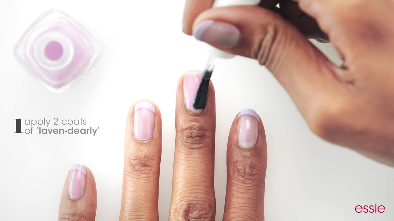nail art featuring NEW Treat Love Color by essie - YouTube