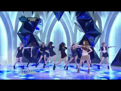 111027 Girls' Generation (SNSD) - The Boys live @M!Countdown. Comeback