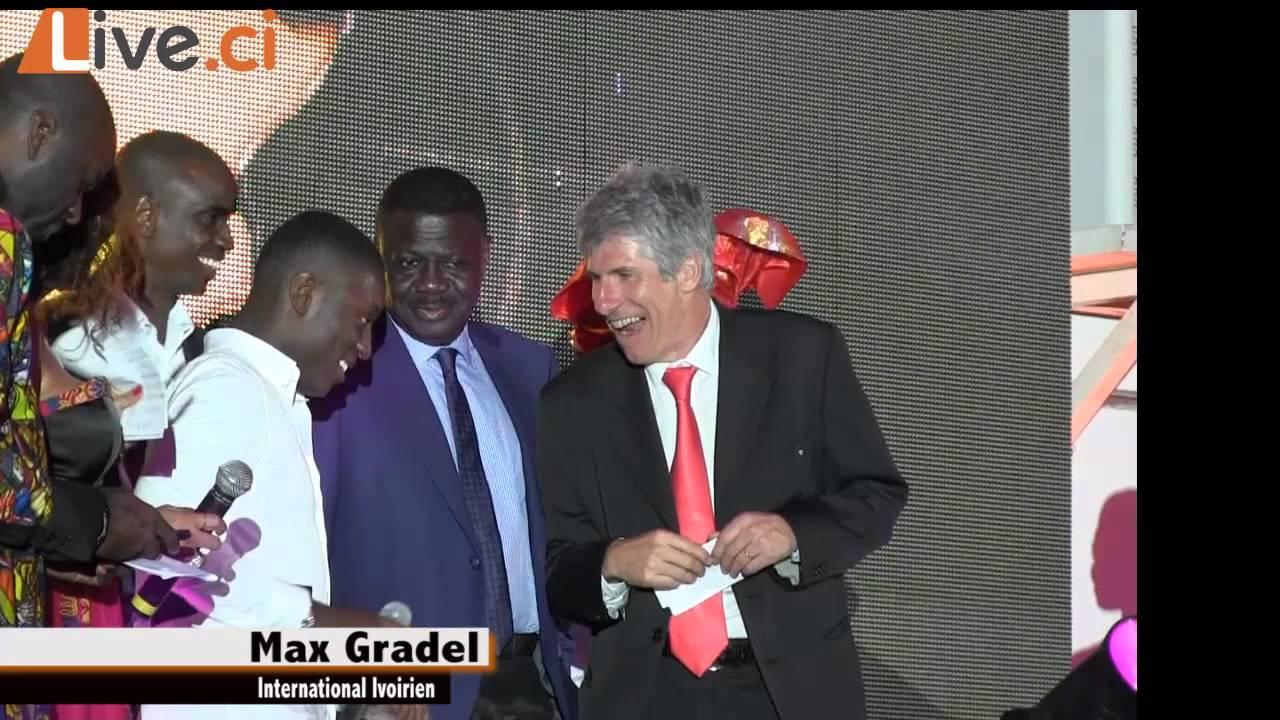 Nuit du Football Africain/ pluie de Trophées pour Max Gradel