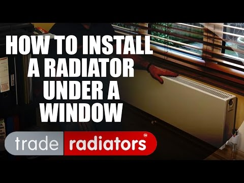 How To Install A Radiator Under A Window