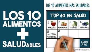 Los 10 alimentos más saludables (TOP TEN)