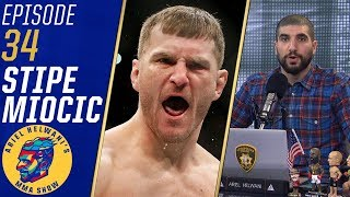 Stipe Miocic wants rematch vs. Daniel Cormier in April | Ariel Helwani