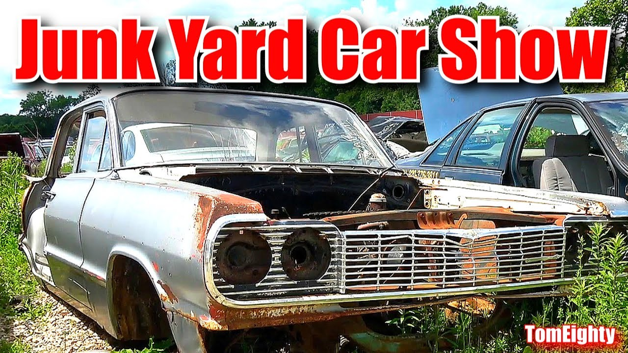 Junk Yard Car Show - YouTube