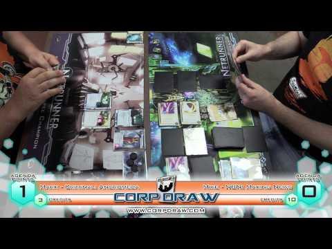 Netrunner - Game Depot Store Championships Mark vs Mike Game 1