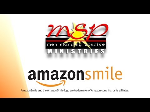 Support Men Standing Positive & Shop AmazonSmile