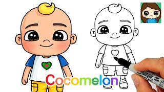 How to Draw JJ | Cocomelon