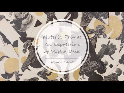 開箱  元素本質神諭卡 • Materia Prima: An Expression // Nanna Tarot