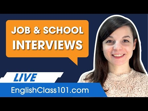 Common English Interview Questions and How to Answer Them Well
