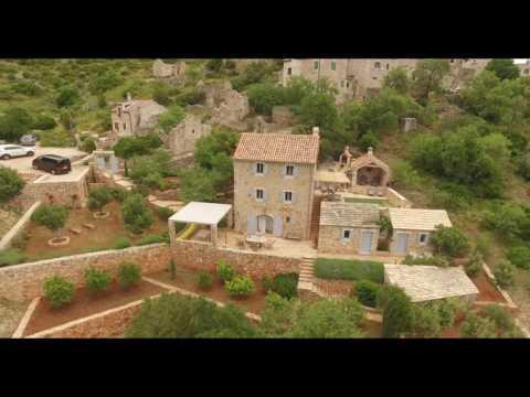 Island of Hvar, Croatia - aerial video