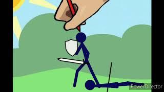 Рисуем мультфильмы 2 стик и молоко