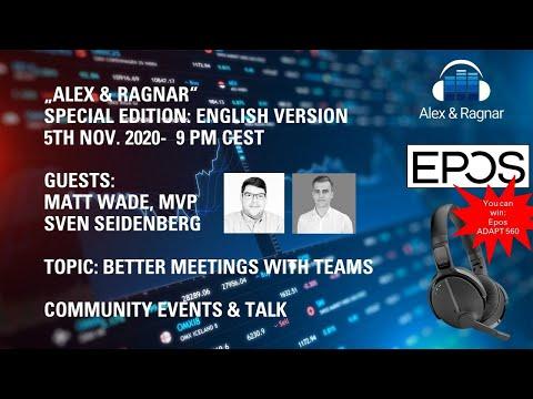 Alex & Ragnar:Rockstar Meetings in Microsoft Teams (Matt Wade + Sven Seidenberg)