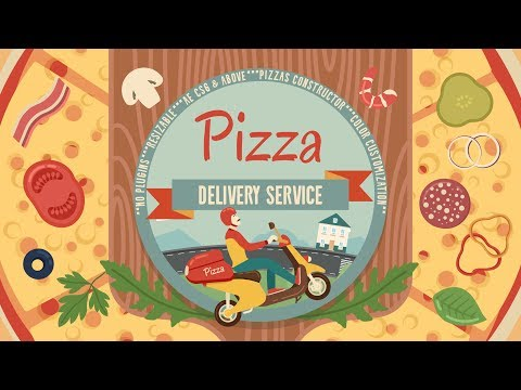 Pizza Delivery Service | VideoHive After Effects Template