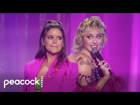 Miley-Cyrus-Presents-Stand-By-You-Dancing-Queen-with-Maren-Morris