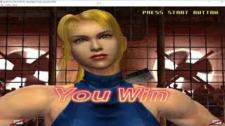 sega naomi demul 0.8 - virtua fighter 4 final tuned - sarah full arcade gameplay 2018 1080p 60fps