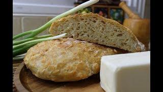Рецепт- Сырный хлеб l Домашний хлеб, очень простой и очень вкусный.