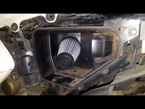 best k&n air filter - install Hero Honda Karizma ZMR - bullet singh boisar