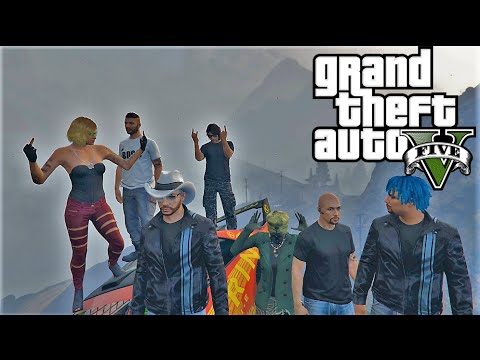 GTA 5 : KING OF THE HILL - TAZ MANIAX NEW RACING DLC - EPIC GTA5 RACES