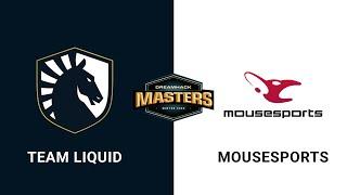 Team Liquid vs mousesports - Dust 2 - Group B - Europe - DreamHack Masters Winter 2020